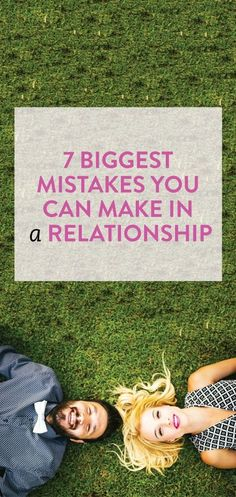 relationship mistakes to avoid