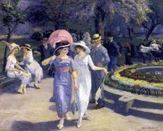 Sunday Afternoon in Union Square (1912) by John Sloan.