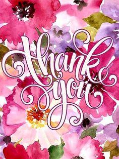 197 best thank you images on pinterest in 2018 send free elegant pink flower thank you card to loved ones on birthday greeting cards by davia its free and you also can use your own customized m4hsunfo