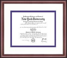 16 x 16 Professional//Doctor Sculpted Foil Seal /& Name Graduation Diploma Frame Cherry Signature Announcements Pepperdine-University Undergraduate