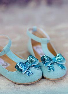 Isis pale blue suede t-strap girls dress shoes joy folie