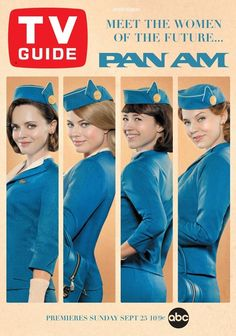 Pan Am MY FAVE! I wish I could have worked for pan am in the