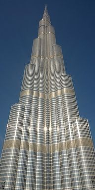 Burj Khalifa, Dubai Worlds Tallest building - pretty awesome view May 2013
