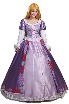 Women or Girls Halloween Cosplay Dress Adult Princess Costume Custom Made Any Size #costume #deals