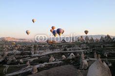 Cappadocia and hot air balloons