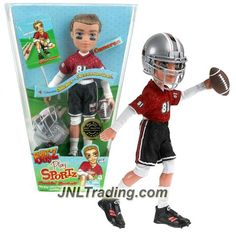 MGA Entertainment Bratz Boyz Play Sportz Series 10 Inch Doll Set - Fumblin' Football CAMERON with Helmet and Football