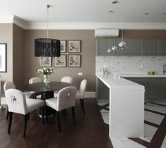 Grey and Beige Living Room | ชื่อภาพ : แต่งห้องครัวใน ...