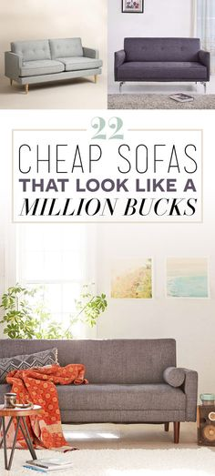 Everything is under $600, and nothing is from Ikea.