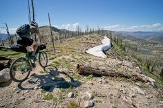 Bike Touring Special: The Idaho Hot Springs Mountain Bike Route Mountian Bike, Mountain Bike Trails, Hot Springs Mt, Mt Bike, Touring Bike, Adventure Activities, Trail Riding, Places To Go, Bike Packing