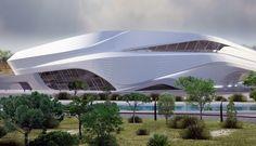 Zaha Hadid - Grand Théâtre de Rabat - Maroc