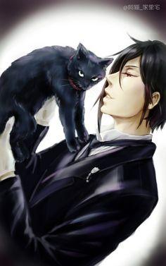Sebastian Michaelis | Black Butler | Kuro Shitsuji by  无题 [1]