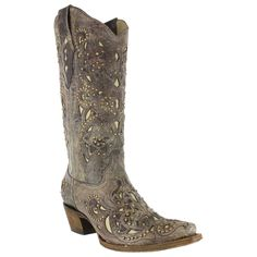 Corral Women's Stud and Inlay Western Boots