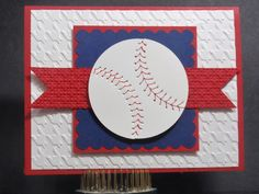 """Red Sox season isn't over yet!! Ok--so they are not off to a great start but it is a long season! There is still time! This past weekend I was asked to make an """"I owe you"""" type of birthday card ..."""