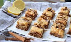 recept_baklava_27 French Toast, Cheese, Breakfast, Food, Morning Coffee, Meals, Morning Breakfast