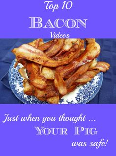 Bacon Humor, Songs, and Recipes that are to die for!  http://stillblondeafteralltheseyears.com/2014/09/top-10-bacon-videos/