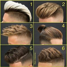 Which is your hairstyle favourite?? comment below