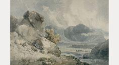 Borrowdale by Thomas Girtin