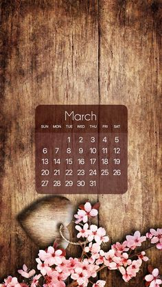 Wallpaper iPhone #calendar March 2016