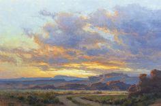 High Desert Dusk by Kim Casebeer Oil ~ 20 x 30