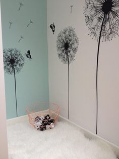 Fantastic home decor diy tips are offered on our website. Baby Bedroom, Baby Room Decor, Nursery Room, Girls Bedroom, Living Room Decor, My New Room, My Room, Girl Room, Art Mural