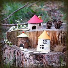 Domečky pro skřítky a víly Crafts For Kids, Pastel, Creative, Outdoor Decor, Home Decor, Africa, Homemade Home Decor, Cake, Kids Arts And Crafts