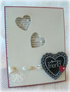 To My Friend by pennysmiley - Cards and Paper Crafts at Splitcoaststampers
