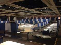 The room is just about ready for tomorrow's Dr. King Career Fair 2015. 3,000+ available jobs. Learn more and register: www.labor.ny.gov/mlkcareers