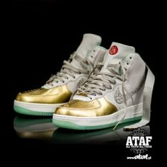 huge selection of 3603f 18bd1 Nike Air Force 1 Hi Yoth QS