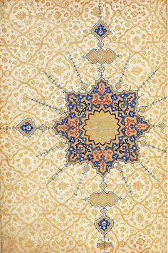 islamic art of illumination Islamic Art Pattern, Pattern Art, Islamic Calligraphy, Calligraphy Art, Old Paper Background, Middle Eastern Art, Illumination Art, Arabesque Pattern, Iranian Art