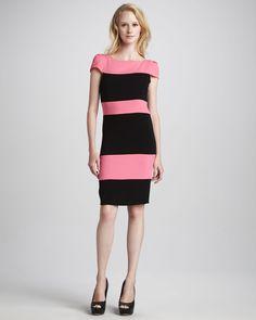 Image from https://cdnb.lystit.com/photos/2012/11/23/alice-olivia-blush-black-dorothy-colorblock-dress-product-1-5588842-567083750.jpeg.