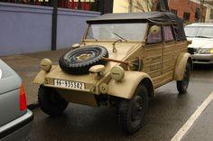 1943 Volkswagen Kübelwagen Type 82.