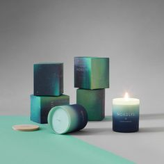 A Scented Candle Inspired by the Aurora Borealis