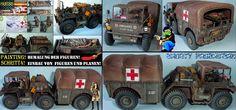 Shorty-Production: Workbench-M-792Gama Goat Ambulance-Painting!-Schri...