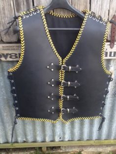 Dv8 Leather Biker vest