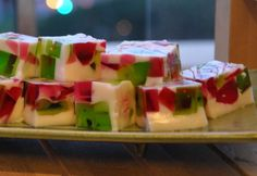 Christmas 'broken glass' jelly dessert - Real Recipes from Mums