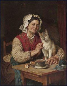Temas da Pintura: Gatos – 2 « ARTECULTURA