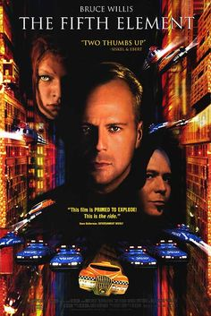 The Fifth Element (1997) In the colorful future, a cab driver unwittingly becomes the central figure in the search for a legendary cosmic weapon to keep Evil and Mr Zorg at bay.