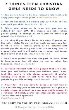 quotes for teen Christian girls and bible verses - small group high school ideas - for christian teens teen quote quotes christian books for teens Bible Quotes For Teens, Girls Bible, Bible Verses Quotes, Bible Scriptures, Faith Quotes, Jesus Quotes, Bible Study Notebook, Bible Study Tips, Christian Girls