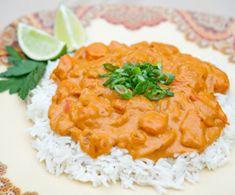 Spicy Peanut Sauce over Rice