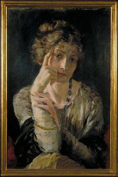 Ritratto di Madame Henriette Fortuny _1915 ca Dai primi anni del Novecento, Fortuny si appassionò alla produzione di stoffe ed assieme alla moglie ...