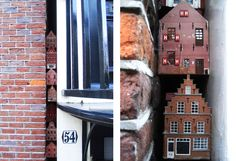 tiny hidden houses on Westerstraat in Amsterdam