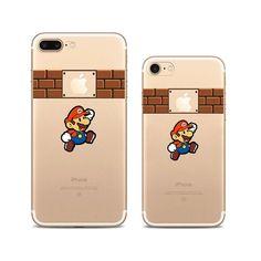 Super Mario iPhone 7 Plus Soft Clear Cases