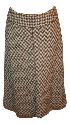 Ann Taylor A-Line Wool Blend Skirt Size 4 #AnnTaylor #ALine