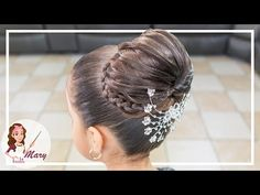 hairstyle for girls with knots and suspenders Dance Hairstyles, Fast Hairstyles, Flower Girl Hairstyles, Little Girl Hairstyles, Braided Hairstyles, Beautiful Buns, Cute Hairstyles For Kids, Hair Due, Braids For Kids