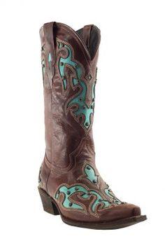 Pecos Bill Turquoise inlay Stud Boot 20-811130767S