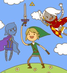 Skyward Sword Time! - A combination of two of my favorite things in the world? Yes please!