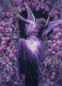 Purple Fantasy Swinging.