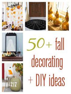 fall decorating & DIY ideas