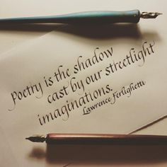 Poetry is the shadow cast by our streetlight imaginations~ Calligraphy Words, How To Write Calligraphy, Calligraphy Alphabet, Typography Letters, Islamic Calligraphy, Calligraphy Handwriting, Penmanship, Beautiful Handwriting, Writing Styles