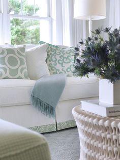 Aqua And White Design Ideas, Pictures, Remodel and Decor
